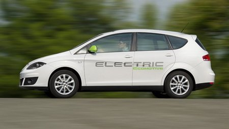 Seat Altea XL Electric Ecomotive y León Twindrive Ecomotive
