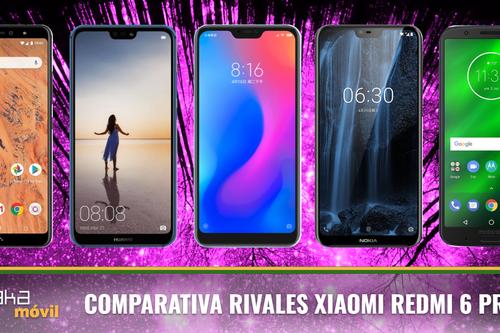 Así se enfrenta el Xiaomi RedMi 6 Pro a sus rivales de gama media en 2018