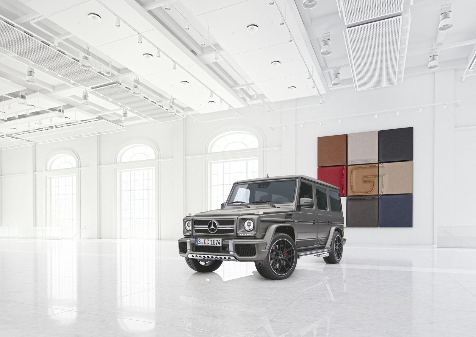 Foto de Mercedes-AMG G 63 y G 65 Exclusive Edition (1/9)