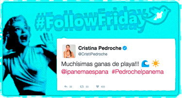 #FollowFriday de Poprosa: a la rica playa, ¡que me la quitan de las manos!