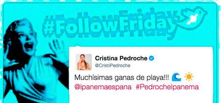 #FollowFriday de Poprosa: a la rica playa, ¡que me la quitan de las manos!