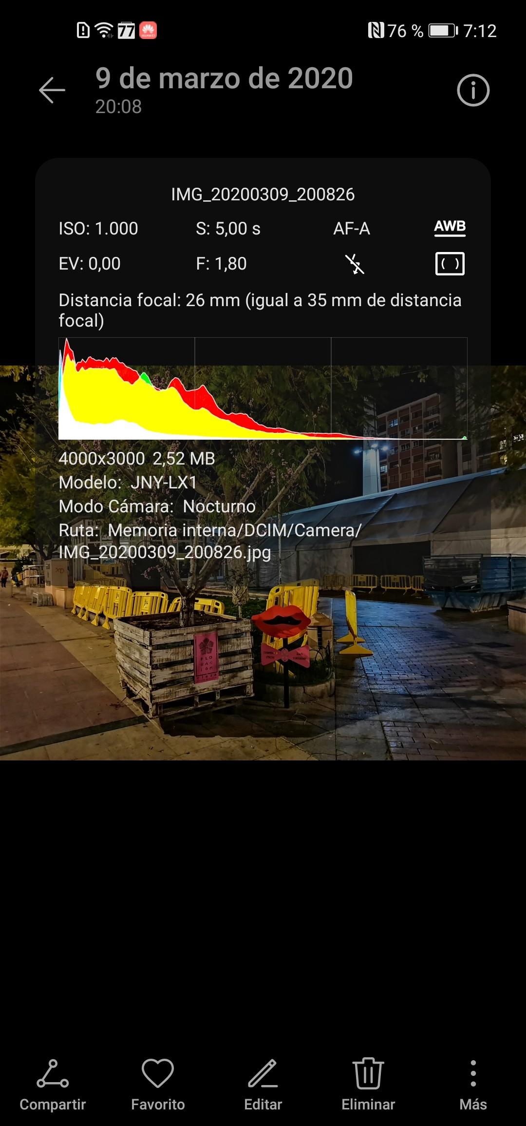 Foto de Huawei P40 Lite interfaz (17/19)