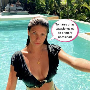Anita Matamoros se va de vacaciones a México en mitad de la tercera ola y las críticas inundan Instagram
