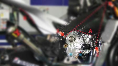 La Yamaha YZR M1 de Jorge Lorenzo al desnudo