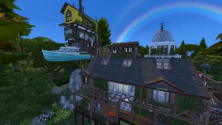 Recrean la monumental casa de What Remains of Edith Finch en el editor de Los Sims 4