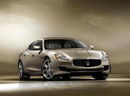 Primeras imágenes oficiales del nuevo Maserati Quattroporte 2013