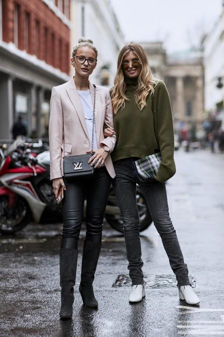 29 looks con pantalón negro que te solucionan la temporada de invierno a4d3a2396107