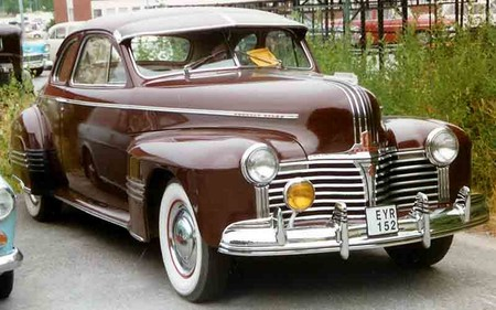 Pontiac Custom Torpedo Eight Jc Line Series 2927 Sedan Coupe 1941