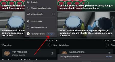 Google Reader Integrado Chrome 2