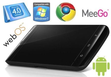 Seis sistemas operativos para un tablet