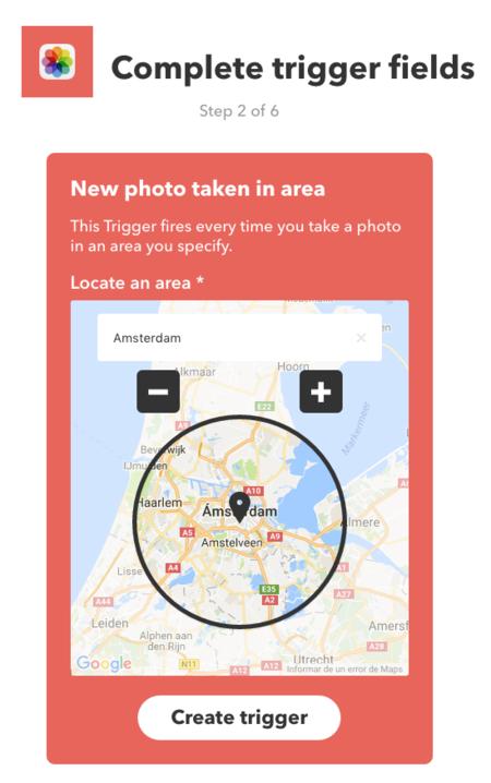 Ifttt Ios Fotos Mapa