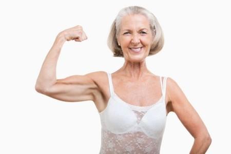 Personas mayores: Mayor desarrollo muscular aumenta la esperanza de vida (estudio).