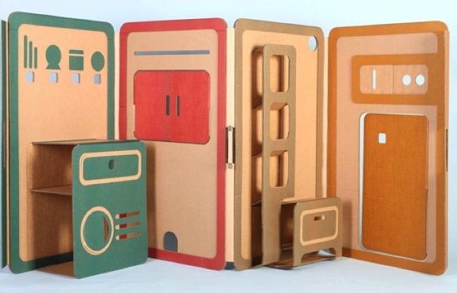 Casas de juguete plegables para niños