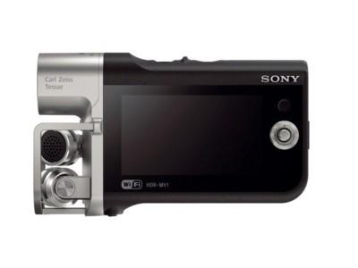 Sony HDR-MV1, una cámara para grabar tus propios vídeos musicales