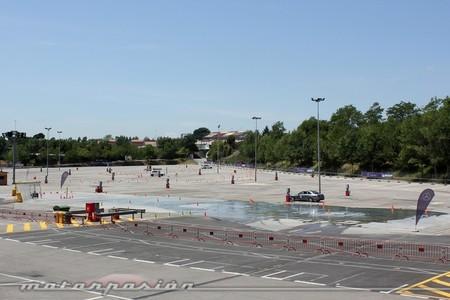 Curso de conducción de seguridad Mercedes AMG en Montmeló