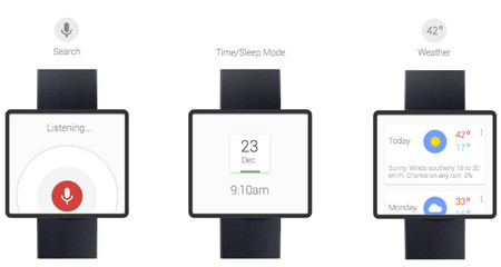 ¡Preparate! ya viene el reloj inteligente de Google basado en Google Now