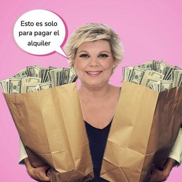 Te enseñamos el pisazo de Terelu Campos en Aravaca: cuatro baños, vestidor y 2.500 euros de alquiler