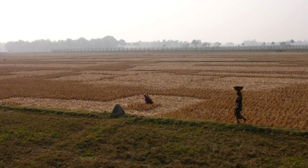 Frontera Bangladesh India Tierra