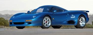 ¿Recuerdas al Jaguar XJR-15? Así era el superdeportivo británico con el corazón en Le Mans