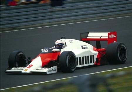 Alain Prost Mclaren 1985