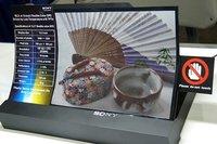 Sony presenta una pantalla 3D flexible