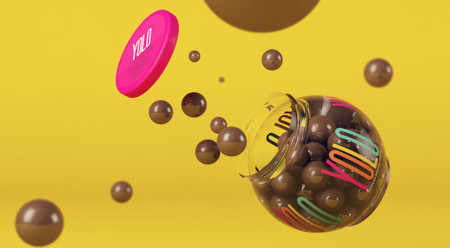 Porque solo se vive una vez, chocolates YOLO