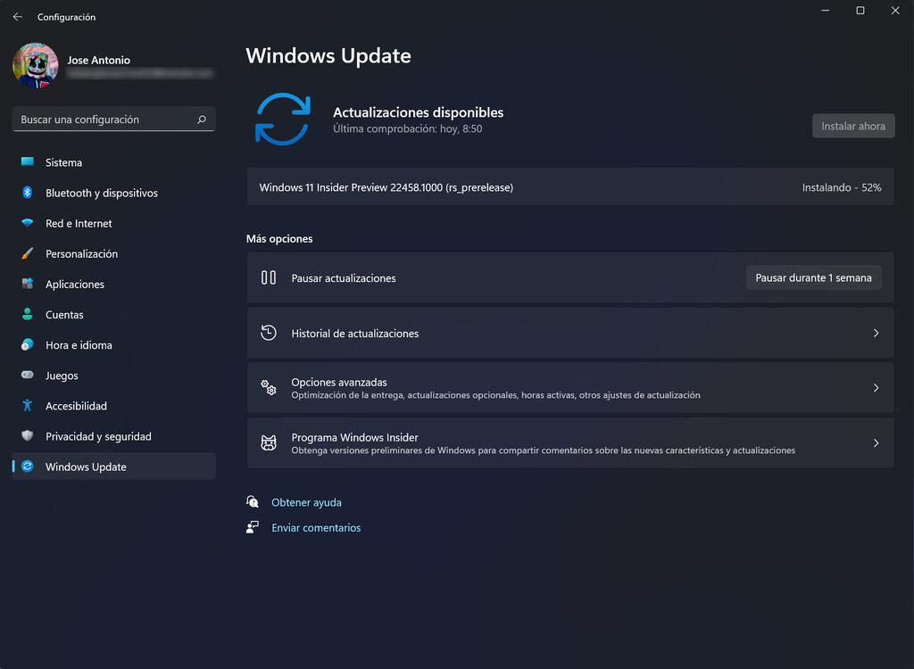 Microsoft lanza la Build 22458 para Windows 11 dentro del Canal Dev preparando la llegada de la rama 22H2
