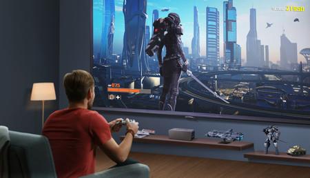 Jugar con un proyector: estos son los requisitos específicos para montarte en casa la sala gaming ideal
