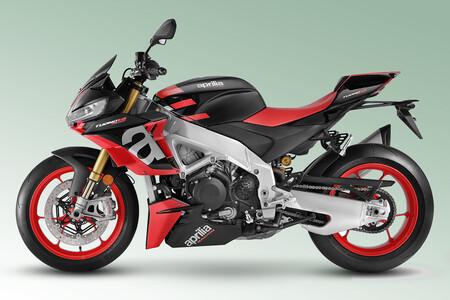 Aprilia Tuono V4: el basculante inspirado en MotoGP y las mejoras aerodinámicas también llegan a la naked de 175 CV