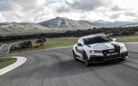 El Audi RS 7 piloted driving concept se dará una vuelta también por Ascari