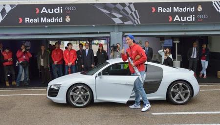 Cristiano Ronaldo con su Audi R8