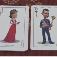 Letizia y Felipe VI ahora en una baraja de naipes diseñada por el ilustrador Fernando Corella