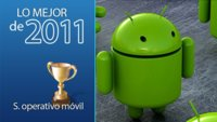 Mejor sistema operativo móvil de 2011: Android