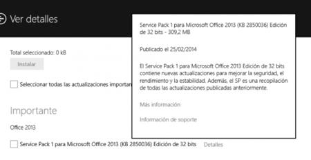 Office 2013 ya cuenta con su primer Service Pack