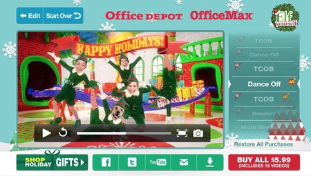 Elf Navidad Video