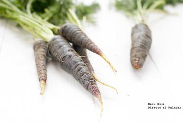 La zanahoria morada, una raiz que se recupera del olvido
