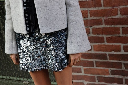 Man Repeller Miniskirt Transitional In The Fall 5