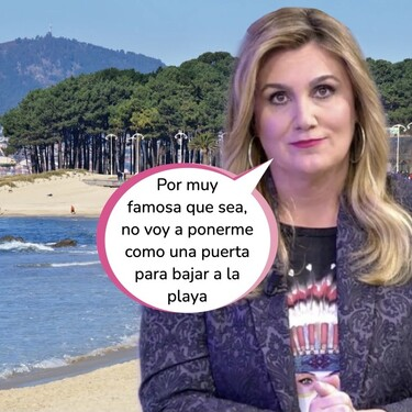 Carlota Corredera enseña su cara sin maquillaje: así descansa la presentadora de Telecinco del 'huracán' Rocío Carrasco