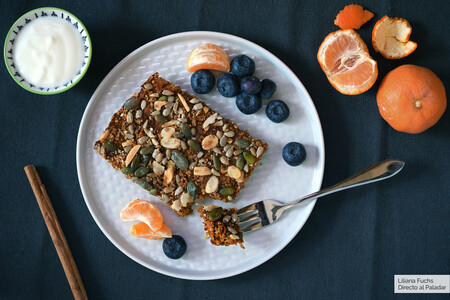 Pastel saludable de avena al horno con zanahoria y frutos secos: receta nutritiva con sabor a carrot cake