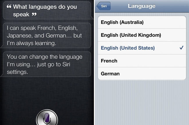 siri apple iphone japones