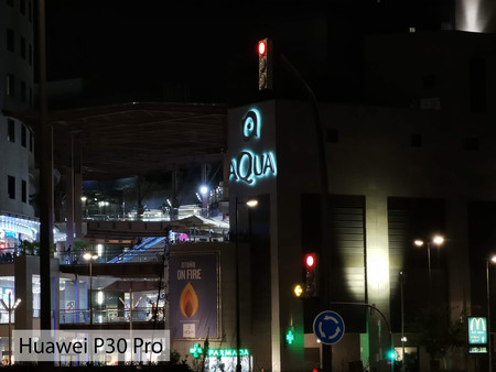 Huawei P30 Pro Zoom Noche