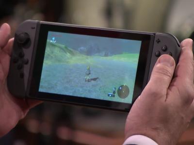 Nintendo Switch y The Legend of Zelda: Breath of the Wild debutan por primera vez ante el público y así funcionan