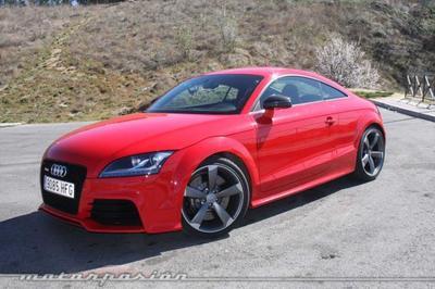 Audi TT RS Coupé S-Tronic, miniprueba (parte 2)