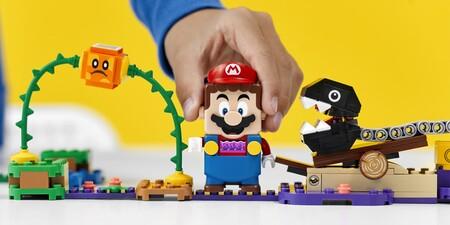 Los nuevos sets de LEGO Super Mario ya están disponibles en Amazon México, tres escenarios y dos trajes se unen a la aventura