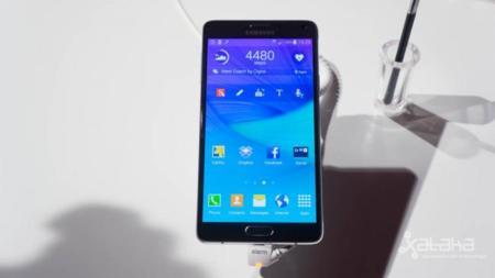 Samsung Galaxy Note 4, toma de contacto