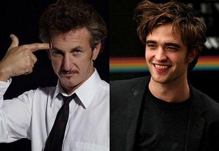 Robert Pattinson y Sean Penn en 'Agua para elefantes'