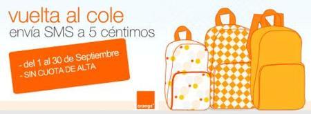 Envia SMS por 5 céntimos a Orange con la promoción Avalancha
