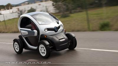 Renault Twizy, presentación y prueba en Ibiza (parte 2)