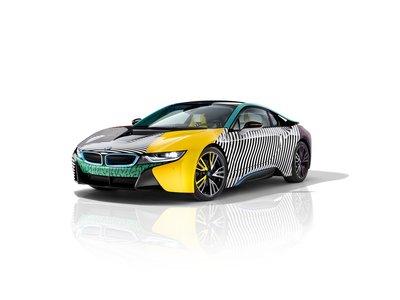 BMW i8 MemphisStyle, la versión más artística del híbrido alemán a la conquista de Nueva York