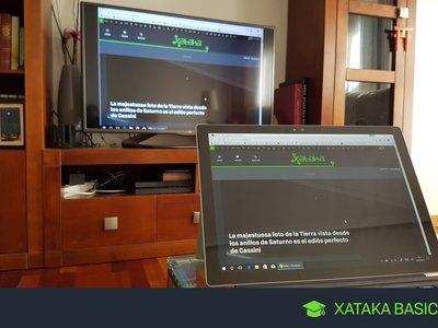Cómo ver la pantalla de tu ordenador en la tele con un Chromecast